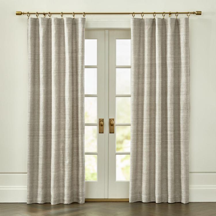 silvana silk curtain panel