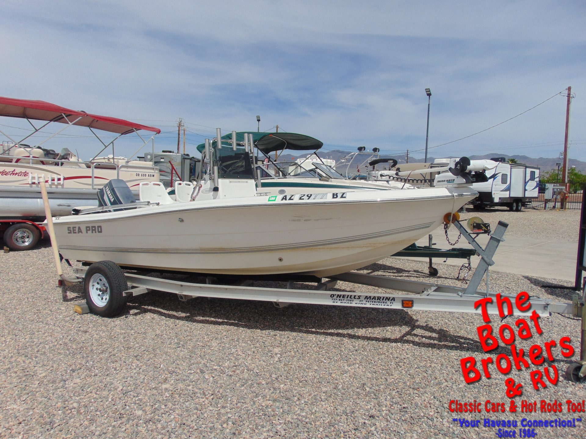 hight resolution of 2004 sea pro 180 cc center console fishing boat