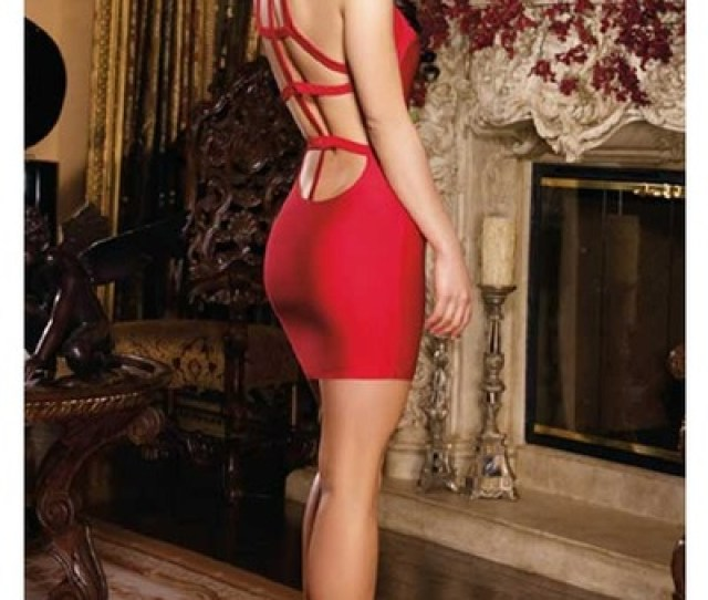 Ruby Red Sexy Dreamgirl Dress