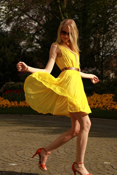 Yellow Dress H M
