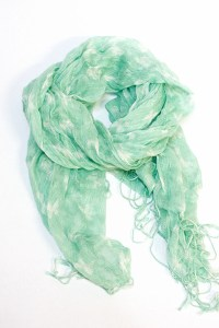 "Light Blue Number A Scarves | ""Lightweight Mint Green ..."