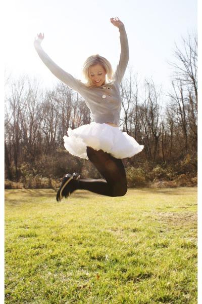 Petticoat Skirts Bunny Sweaters I Am Floating Away