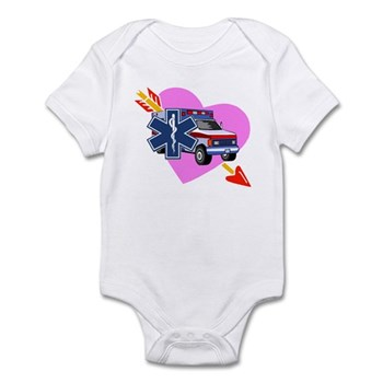 EMS Valentine's Day Infant Bodysuit