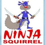 Cute Ninja Squirrel Kid's T-shirt Design