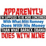 Mitt Romney Obama Money Humor T-Shirts