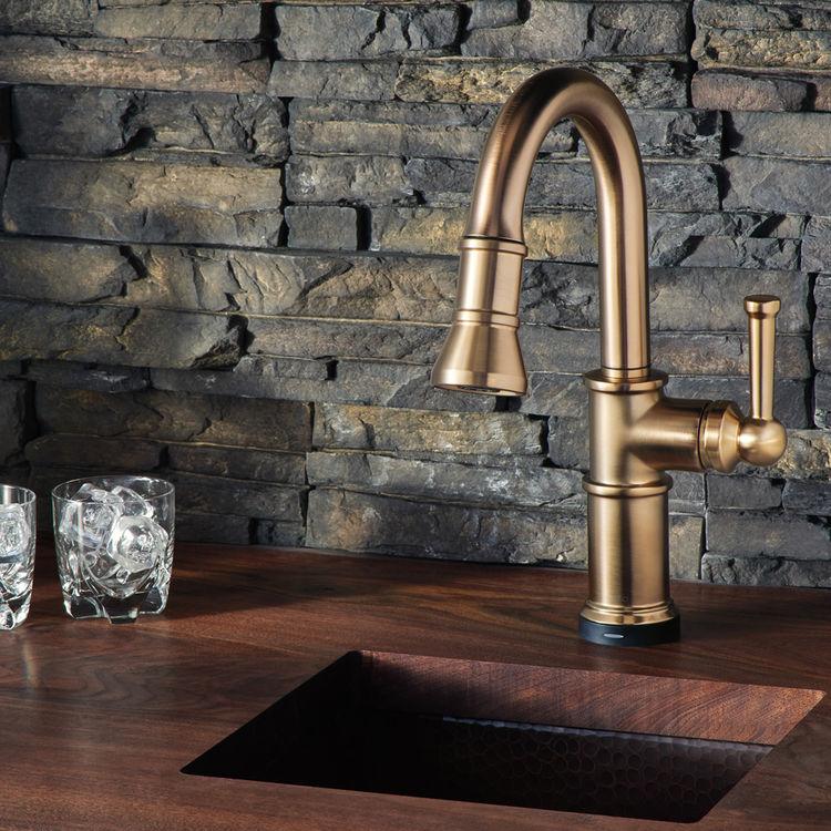 brizo 64925lf gl artesso smarttouch single handle pulldown faucet luxe gold