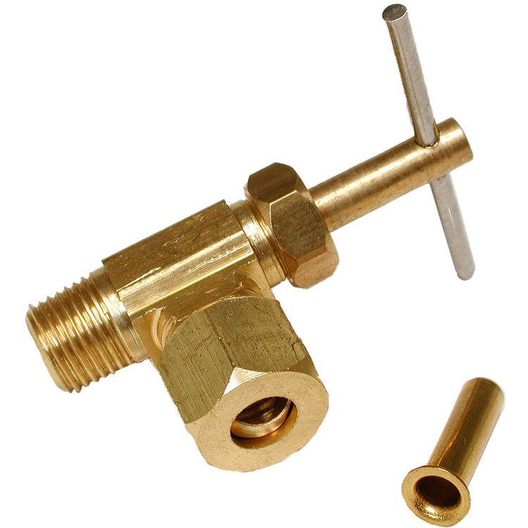 Dial 94395 Angle Needlewater Shutoff Valve  Plumbersstock