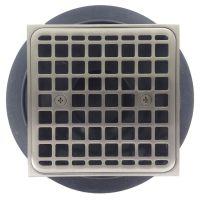 Kohler K-9136-BN Tile-In Square Shower Drain, Brushed Nickel