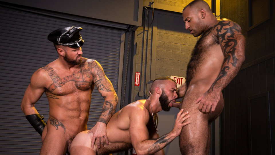 Beards, Bulges & Ballsacks!, Scene #01