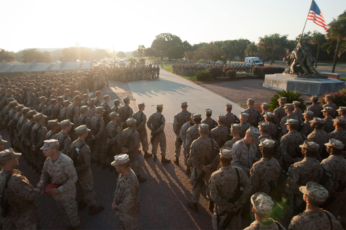 Parris Island Recruit Attacked Comrade Will Be Separated