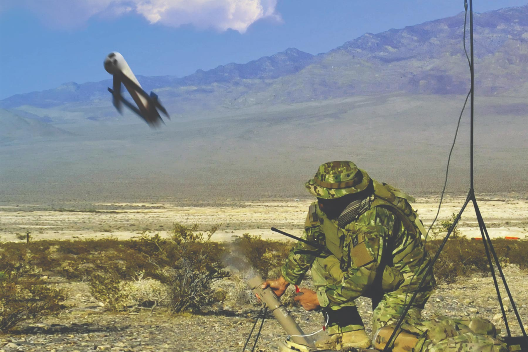 Marines Want a ManPortable System That Fires Kamikaze Drones  Militarycom