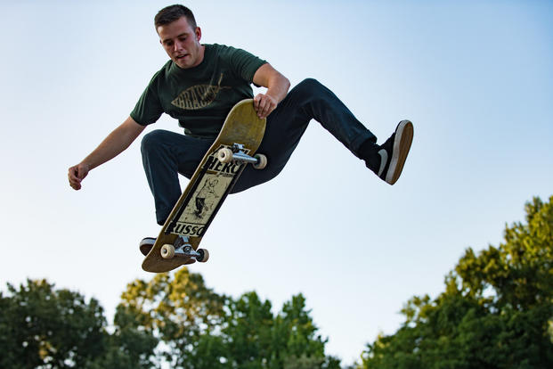 World Record Holder Carries Skateboarding Values Into Air Force  Militarycom