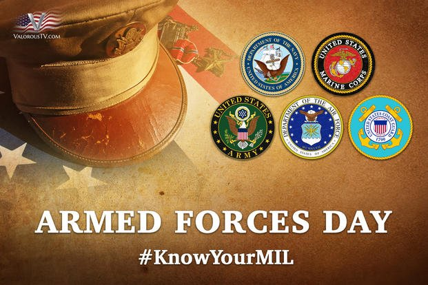 Armed Forces Day Know Your Military  Militarycom