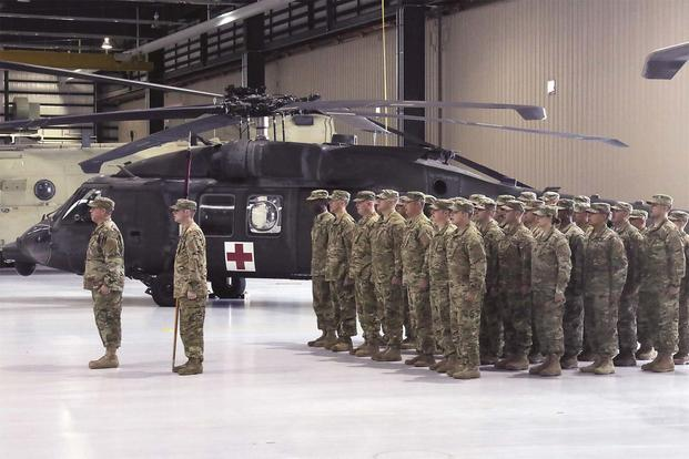 Army Announces 800Soldier Aviation Unit to Deploy to