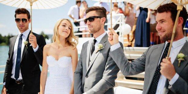 Eisel heiratete auf dem Wrthersee