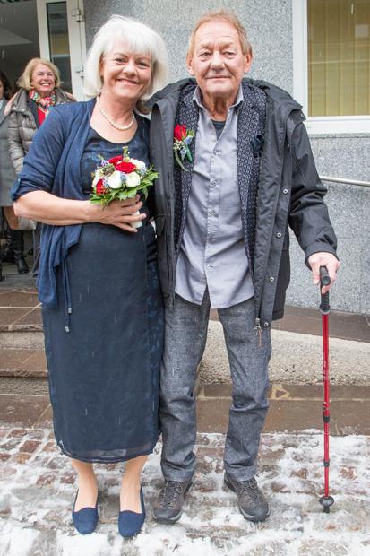 Wolfgang Ambros Das erste Hochzeitsfoto