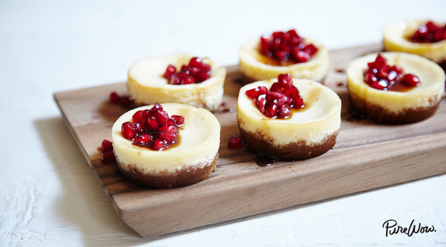 Mini Yogurt Cheesecakes Recipes Purewow