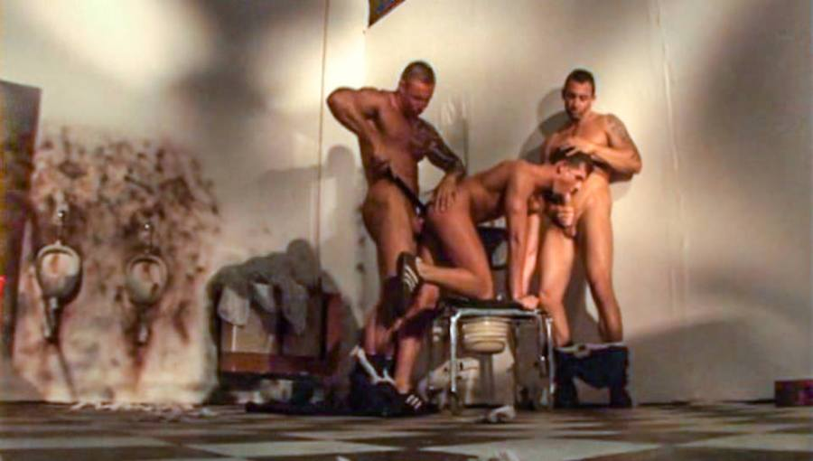 Lock Down, Scene # 04   Isidore Nadas, Jack Dragon, Chris Sparrow (ragingstallion)