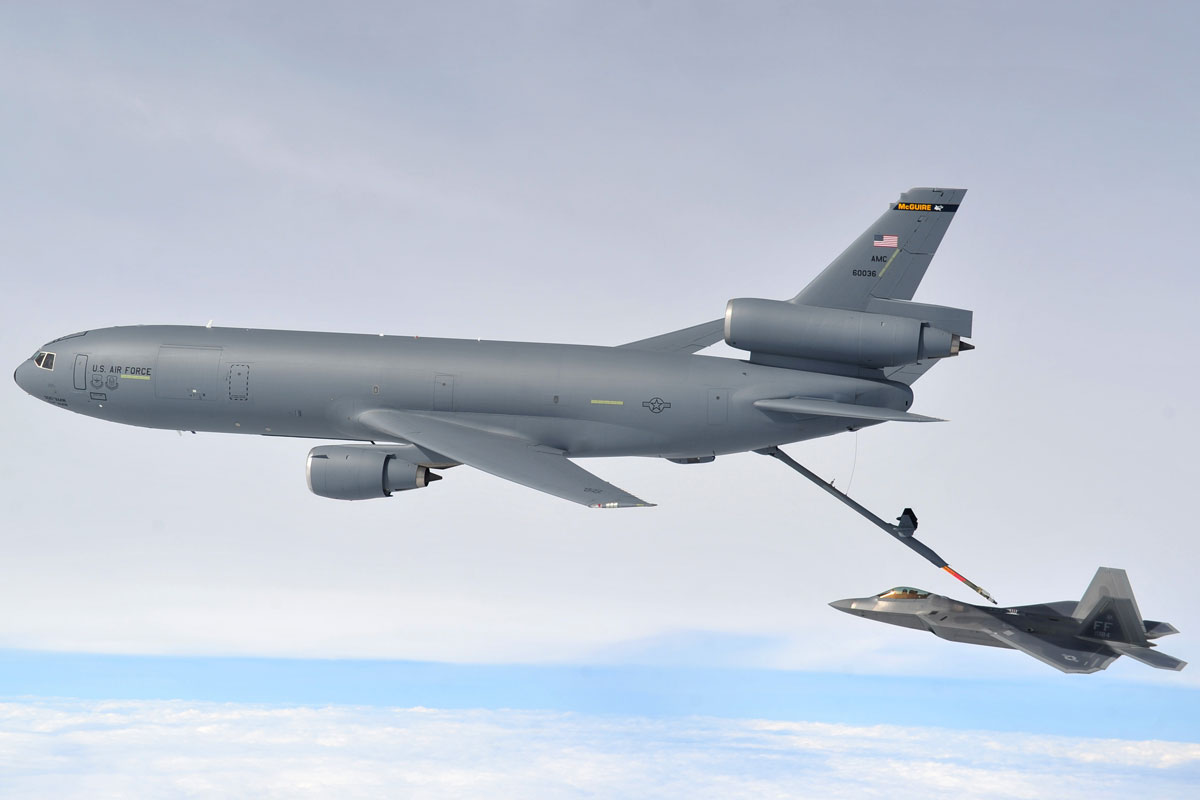 KC10 Loses Boom During Training Exercise Over Idaho