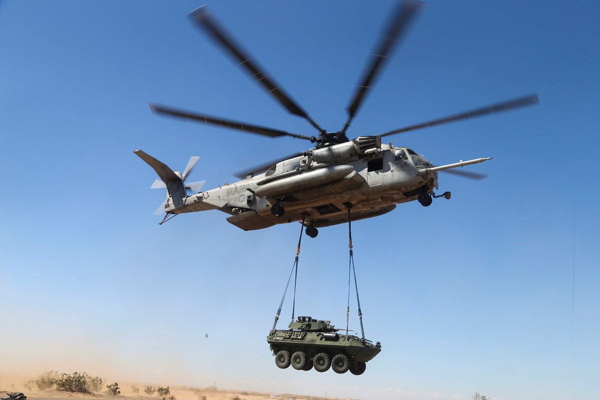 Marine Corps Wants Foreign Buyer To Curb Ch 53k Cost