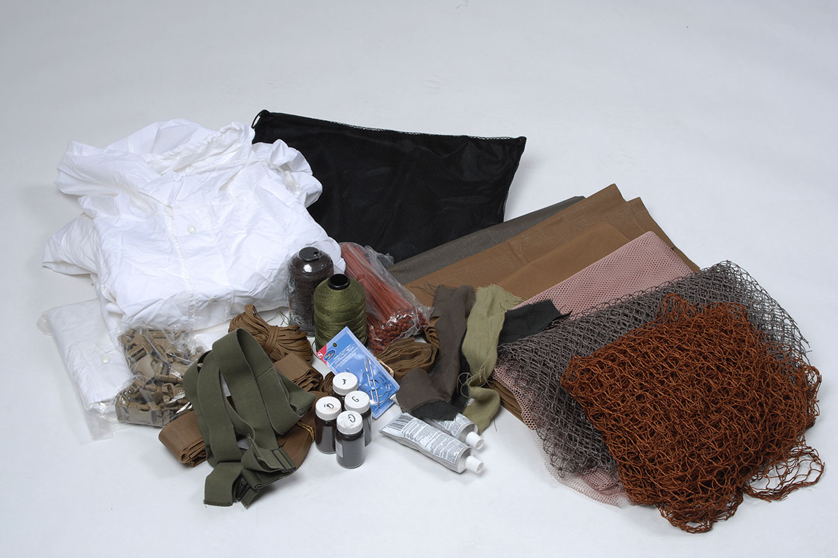 Ghillie Suit Accessory Kit  Militarycom