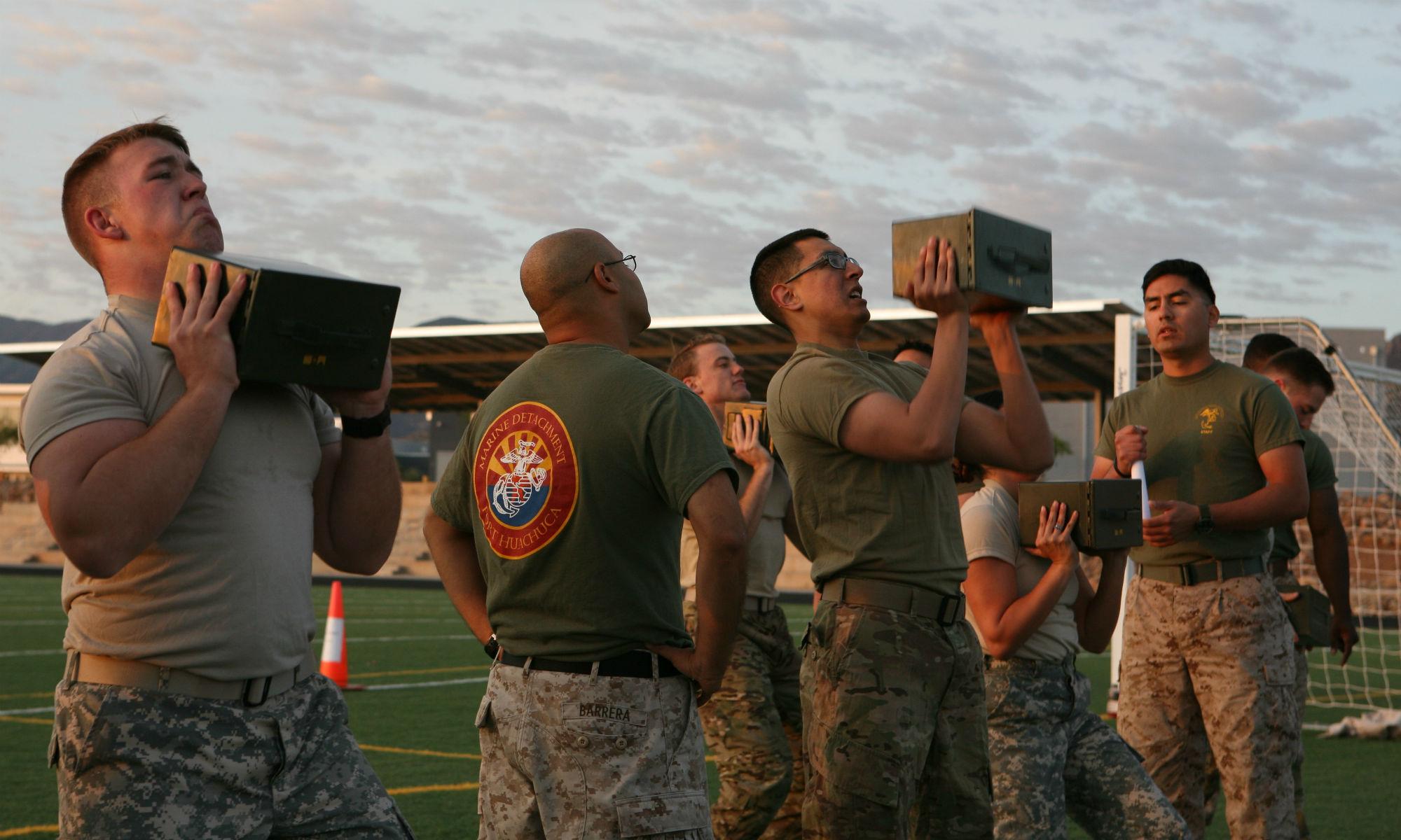 Navy Seal Training Workout