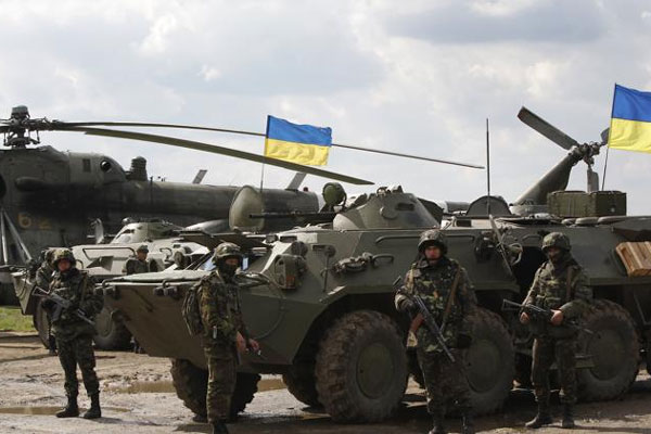 NATO Builds Plan as Violence Increases in Ukraine
