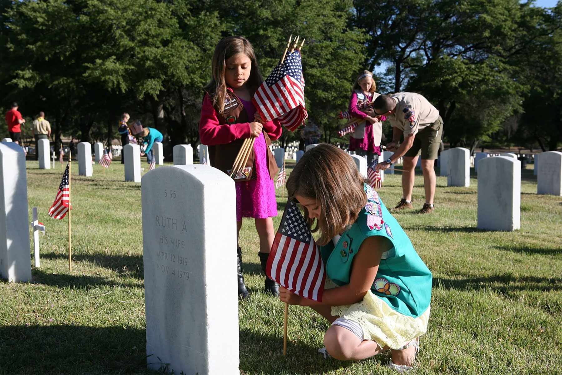 Commemorating Memorial Day With Kids