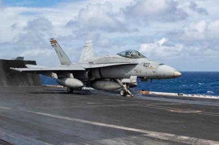 An F/A-18C Hornet