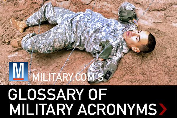 Glossary of Military Acronyms  Militarycom