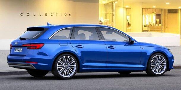 Neuer Audi A4 Avant G-tron Mit Erdgas-Antrieb