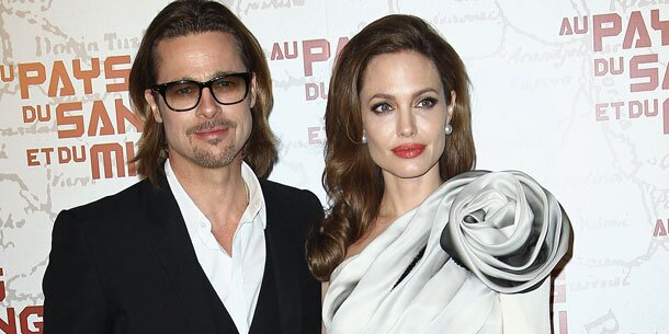 Angelina Jolie Hochzeit mit Brad Pitt nach BrustAmputation