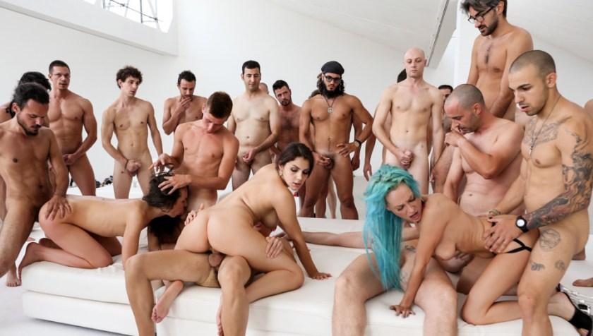 Roccos Italian Porn Boot Camp, Scene #02   Valentina E, Nataly Gold, Vesna, Valentina Nappi, Mary Rider, Luna Dark, Rocco Siffredi