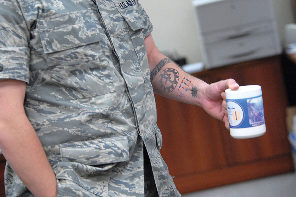 Air Force Relaxes Tattoo Policy Allows Sleeves  Militarycom