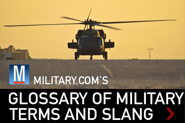 Glossary of Military Terms  Slang  Militarycom