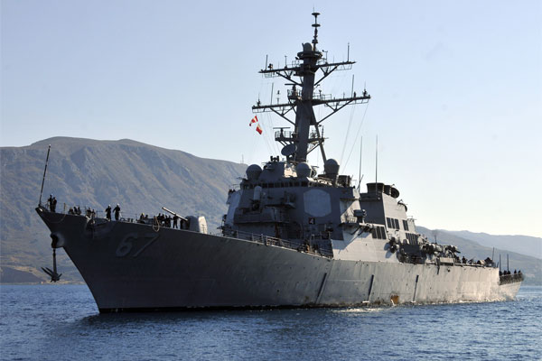 USS Cole Patrols Off Yemen After IranBacked Rebels Attack