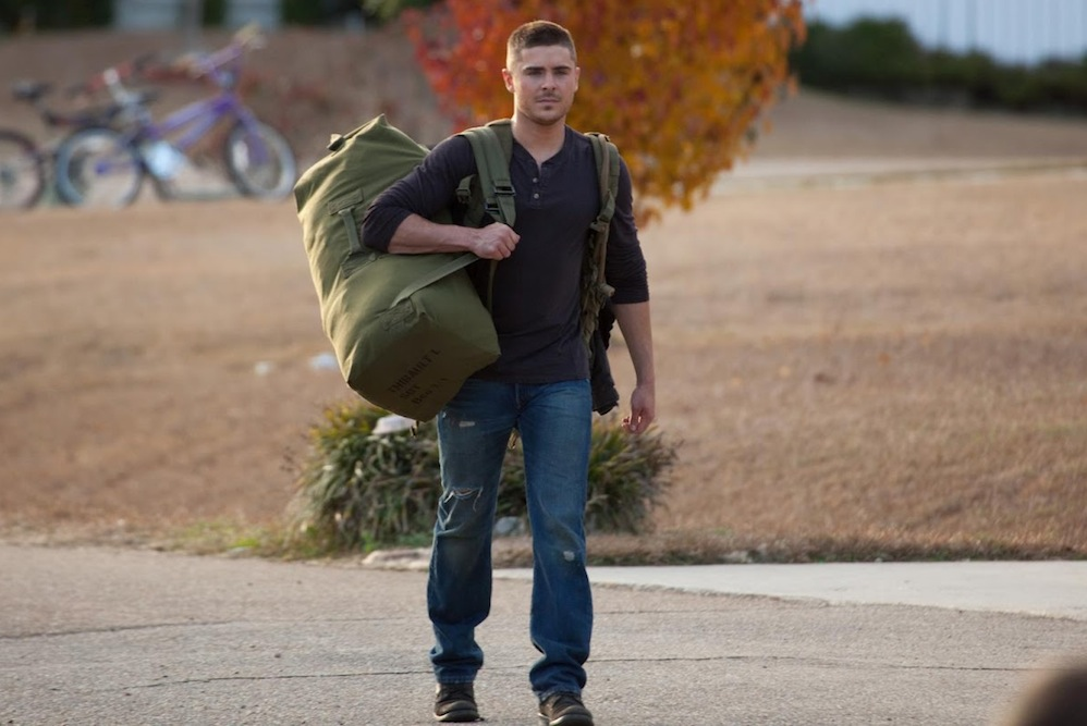 Efron Talks Training for Lucky One Role  Militarycom