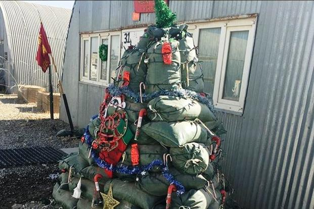 For Deployed Marines Mission Comes First  Even at Christmas  Militarycom