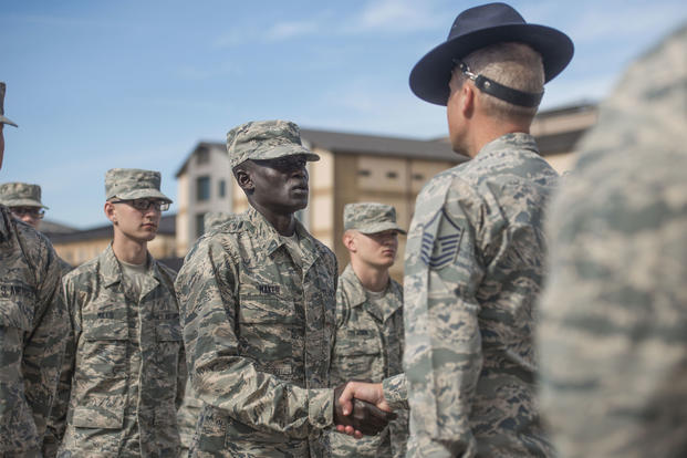 Former Slave TwoTime Olympian Becomes an Airman