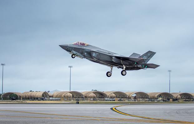 Another F-35 Incident at Eglin: Bird Strike Follows Nose Gear Mishap ...