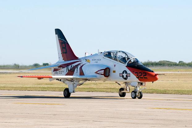 Navy Training Aircraft Crashes at Naval Air Station