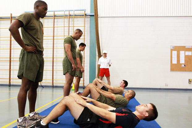 marine corps physical fitness