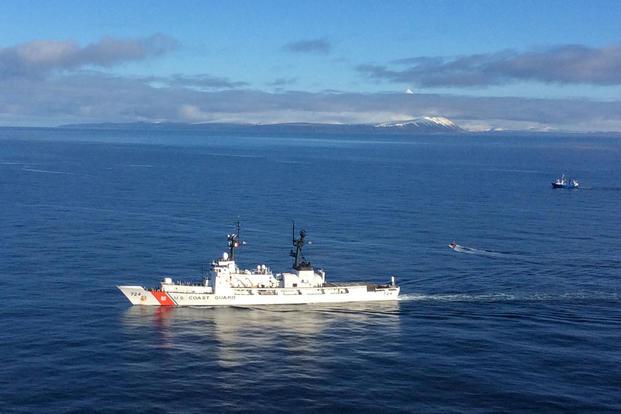 Coast Guard Cutter Munro Returns to Alaska after Winter Deployment  Militarycom
