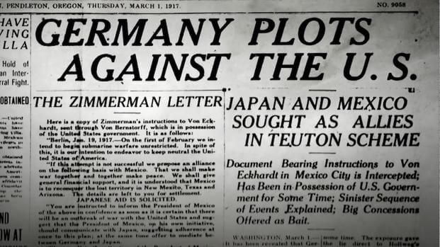 The Zimmerman Telegram  the Road to the Great War