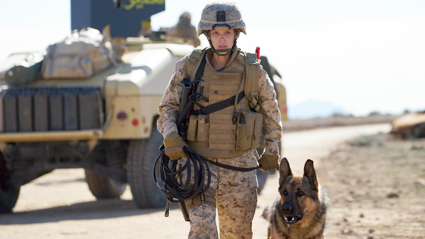 Megan Leavey Director Gabriela Cowperthwaites Dog Tale