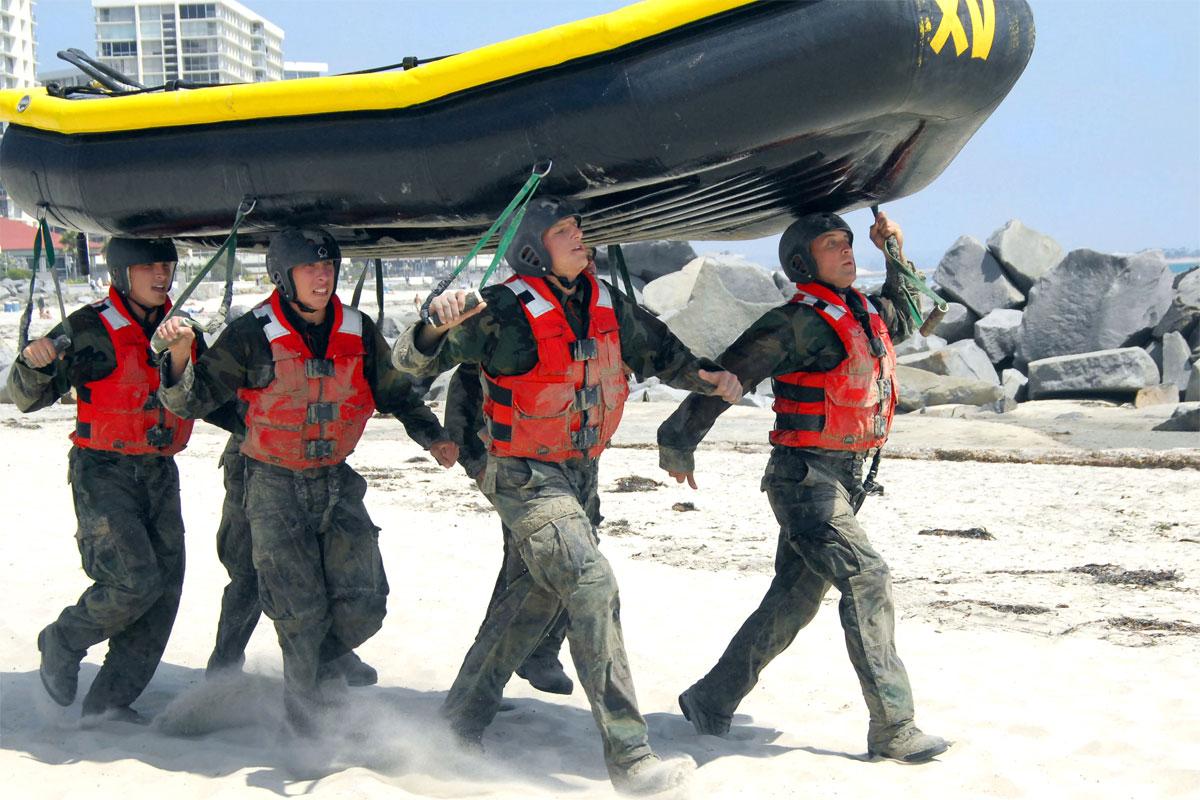 The Navy SEAL Grinder PT  Militarycom