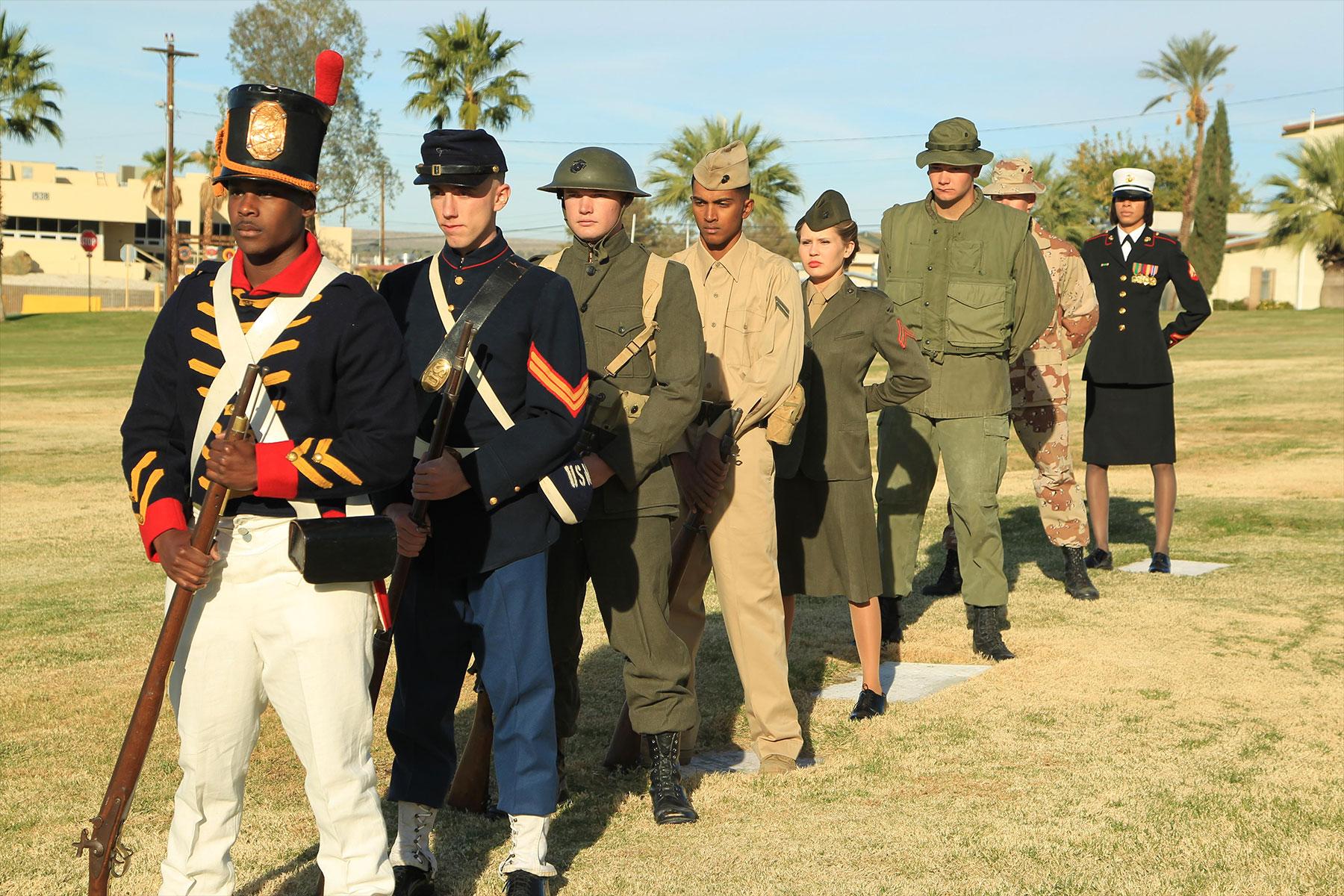 History Of U S Marine Corps Uniforms