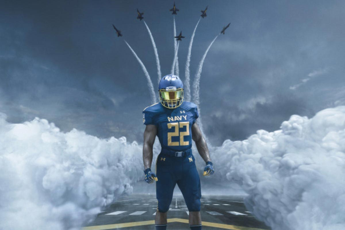 Navy Unveils Blue AngelsInspired Uniforms for ArmyNavy Game  Militarycom