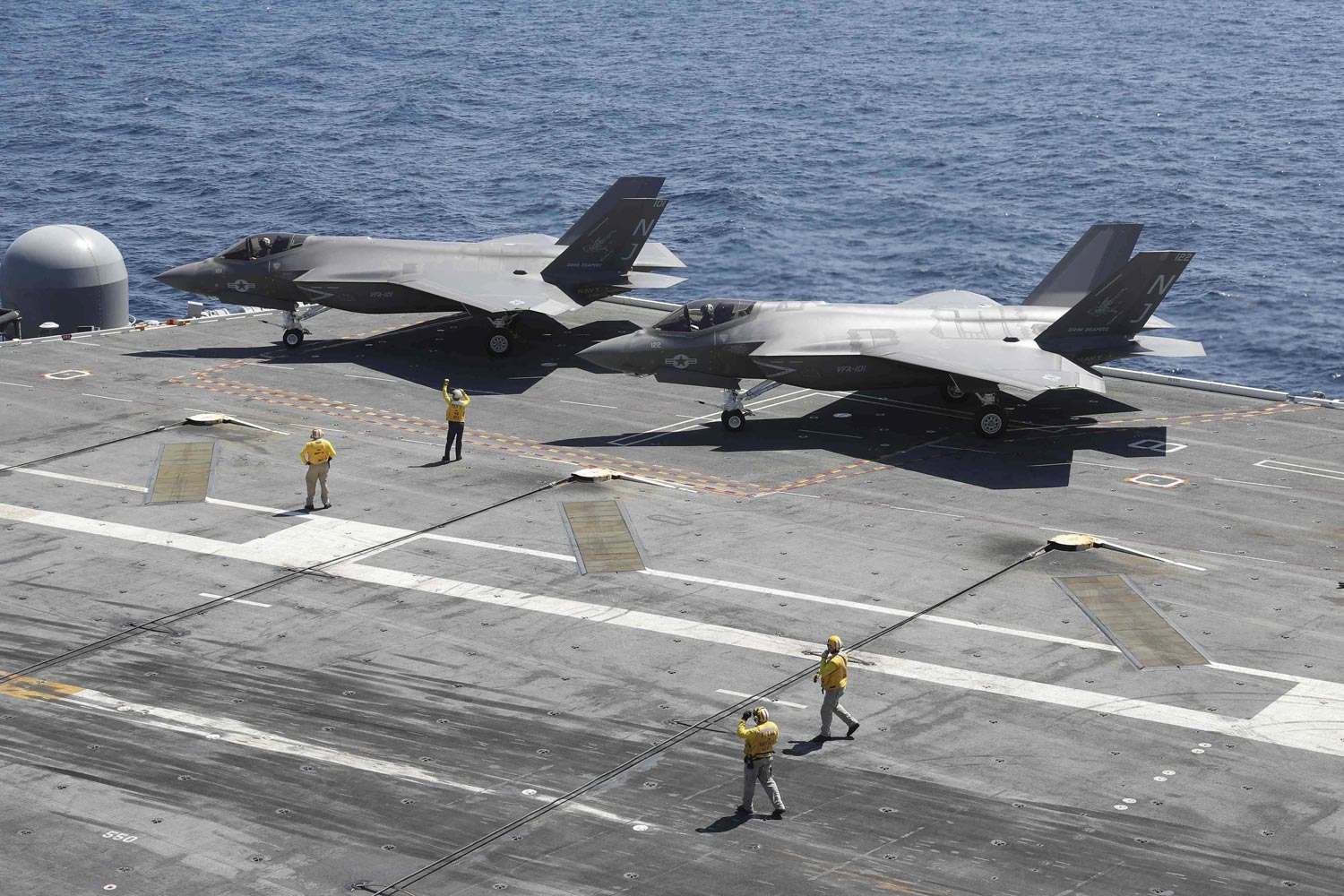 Navy Wasted Enough On Continuing Resolutions To Buy F 35