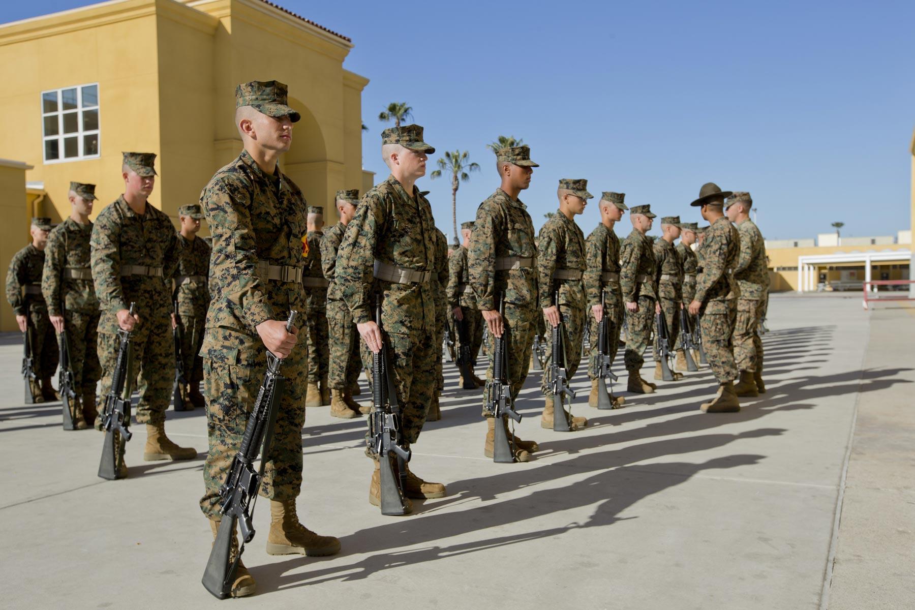Second Marine Recruit Sues Food Vendor After E Coli Outbreak  Militarycom